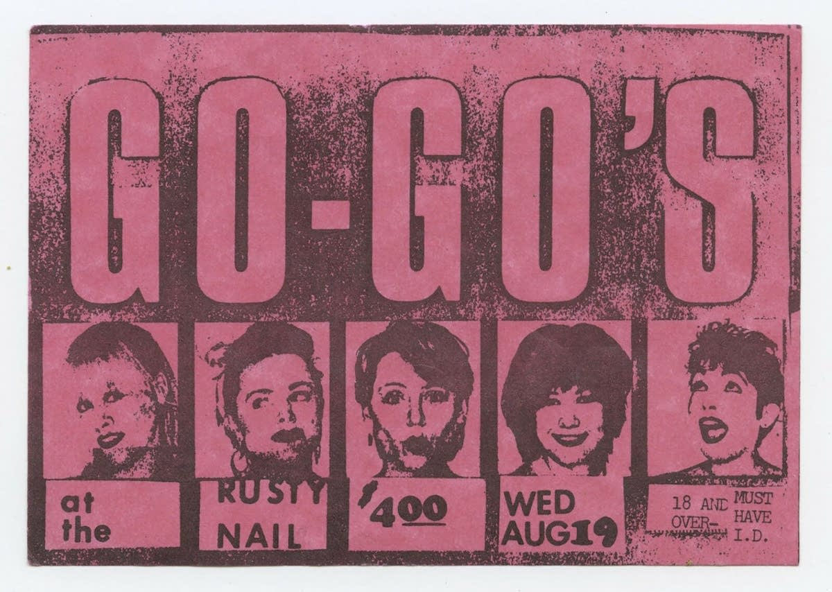 The Go-Go's press images from Showtime