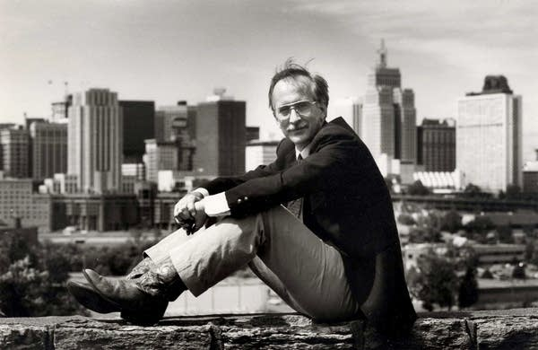 Former St. Paul Pioneer Press columnist Nick Coleman, circa 1987 photo