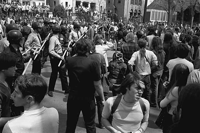 University of Minnesota student protest against the Vietnam War