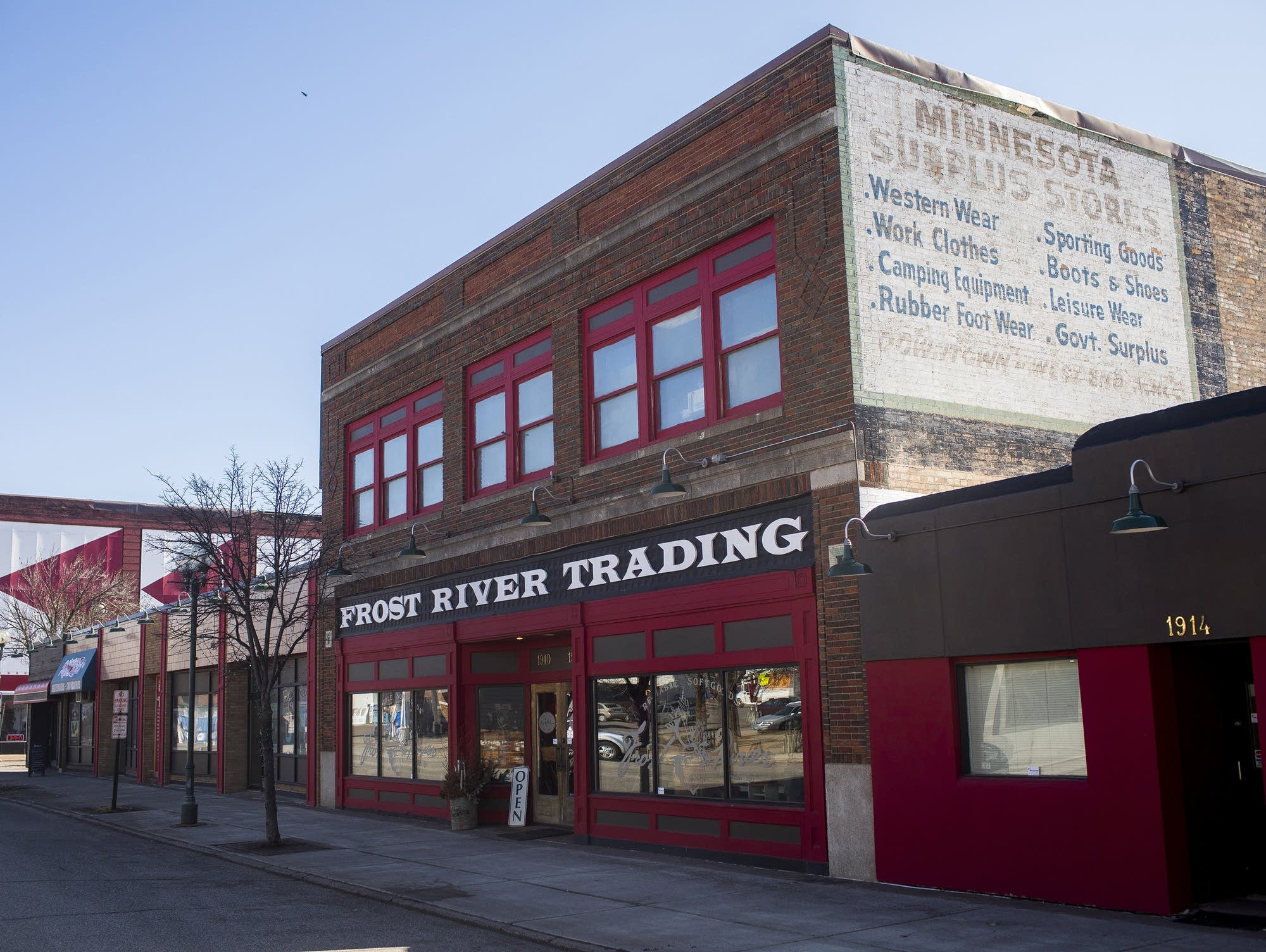 Frost River Trading, Duluth's Lincoln Park neighborhood
