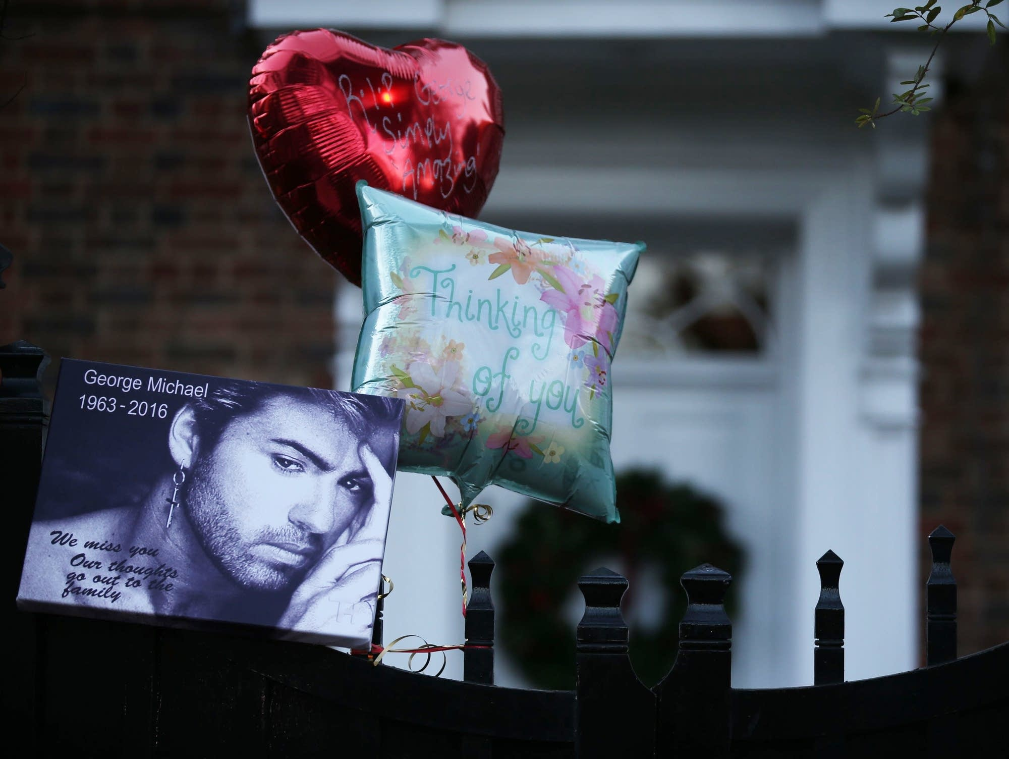A memorial to George Michael