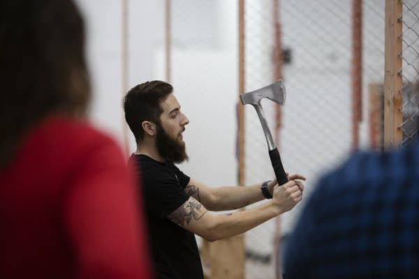 Axe Throwing Coach Shane Donner explains different types of throws.
