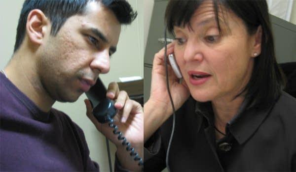 Dialing for delegates