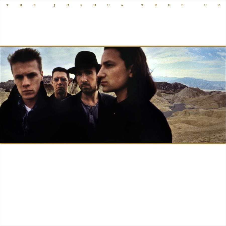 30th anniversary 'Joshua Tree' artwork