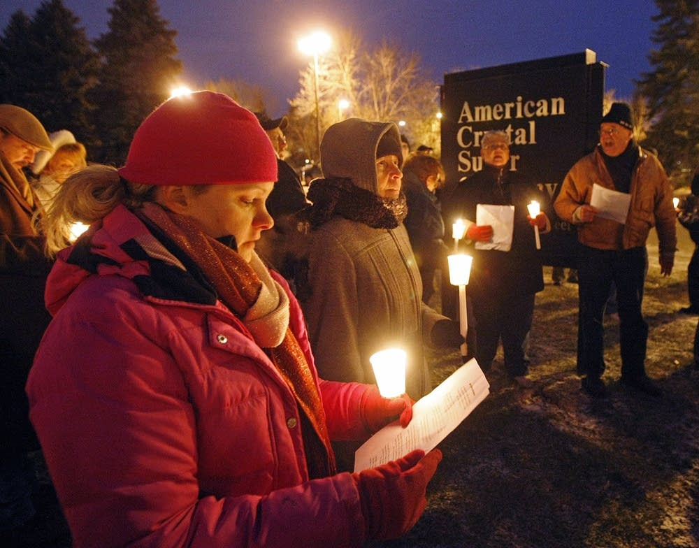 American Crystal vigil