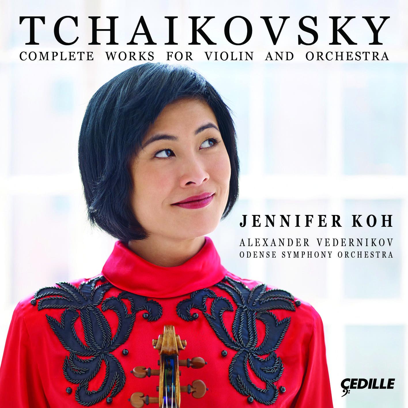 Jennifer Koh, Tchaikovsky: Complete works