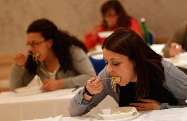 Pasta taste test