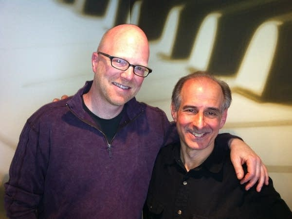 Fred Child and composer Bruce Adolphe