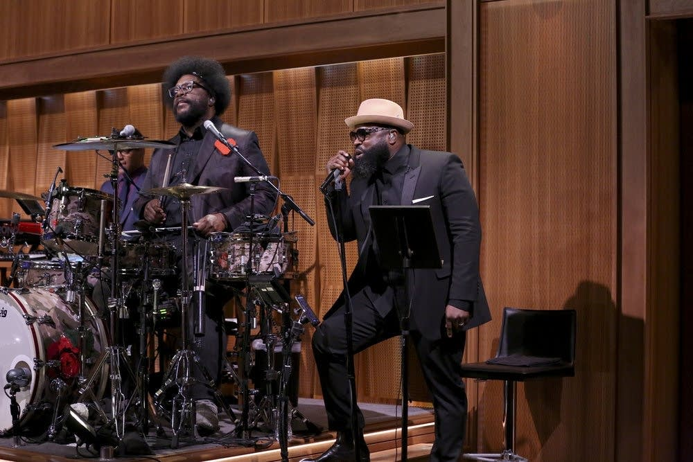 Questlove and Black Thought of The Roots on 'Fallon'