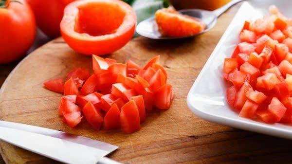 Warm Tomato Vinaigrette