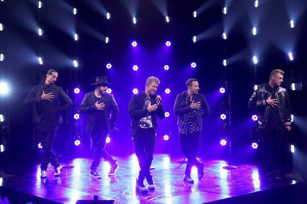 The Backstreet Boys on 'The Tonight Show Starring Jimmy Fallon'