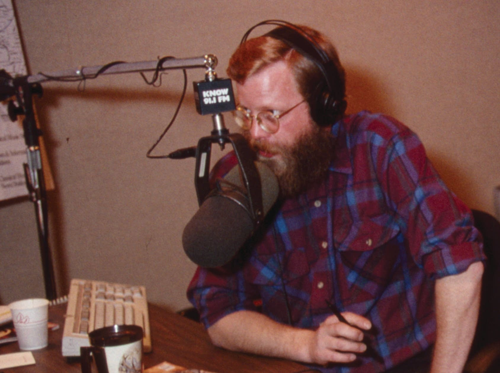 Former MPR News host Mark Heistad