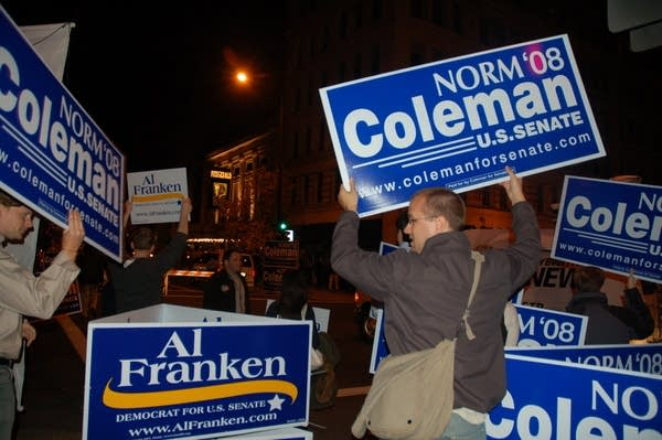 Campaign supporters
