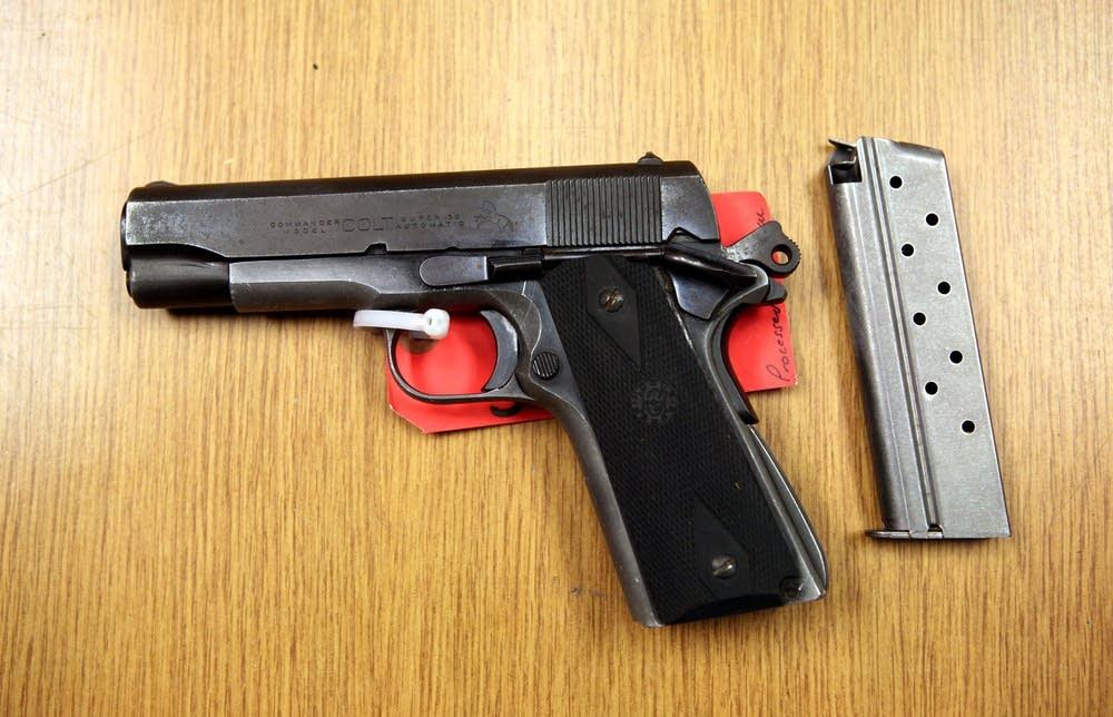 Colt Commander .45-caliber ACP pistol