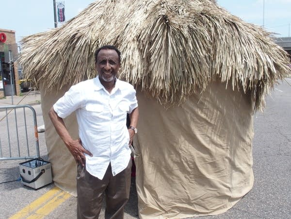 Somali Museum founder and executive director Osman Ali