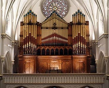 1876 E. & G. G. Hook & Hastings-2001 Andover organ at Saint Joseph's...