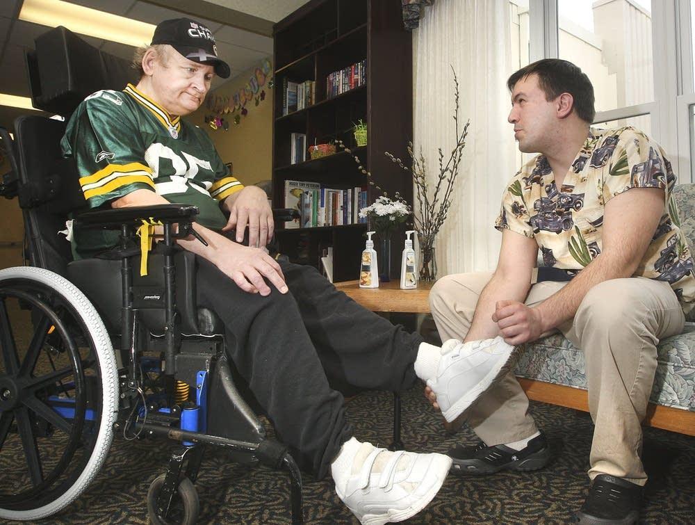 Help for nursing home resident