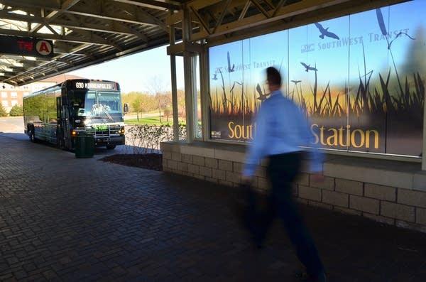 Commuter at Southwest Station