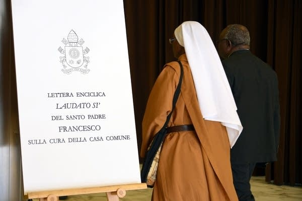 VATICAN-RELIGION-POPE-ENVIRONMENT-CLIMATE