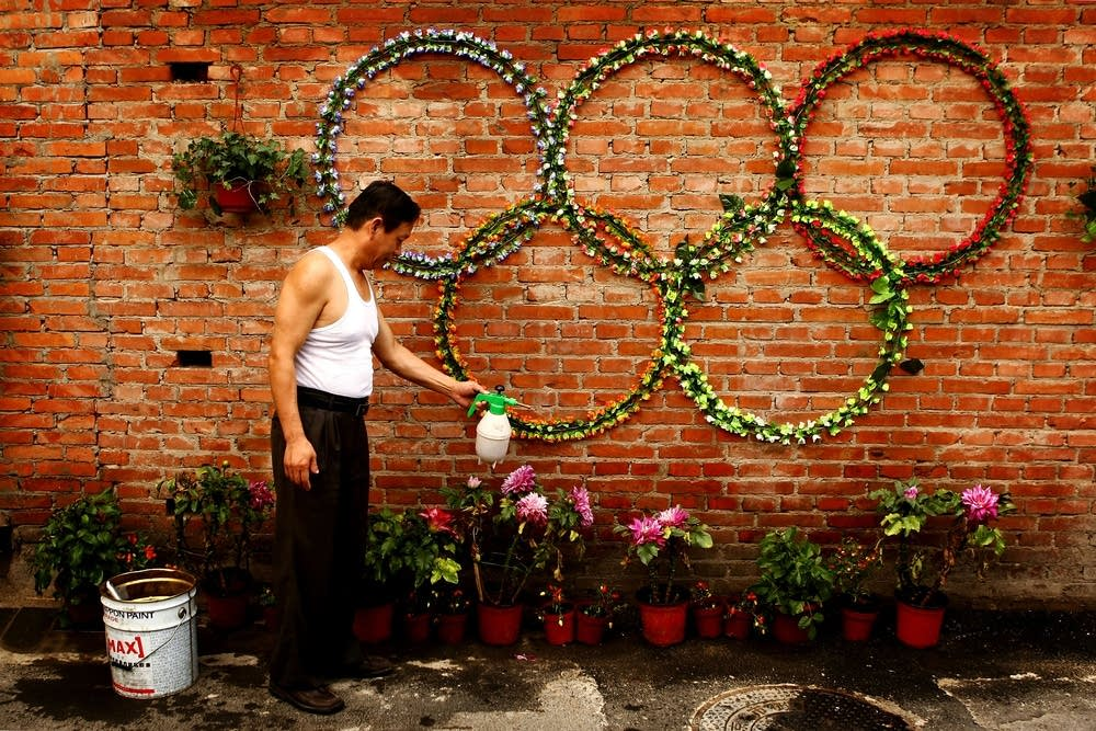 Olympic flowers
