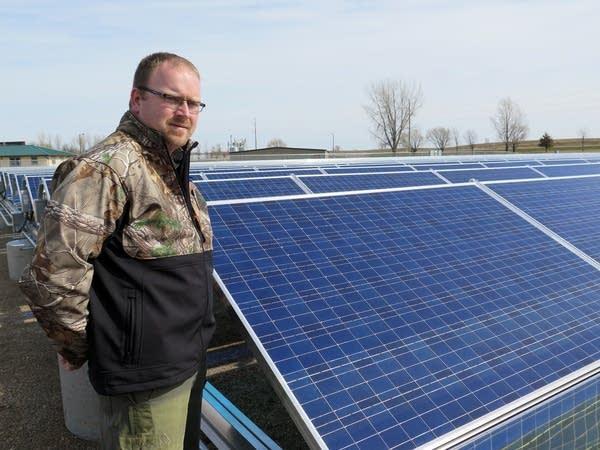 John Paulson, environmental manager for Hutchinson