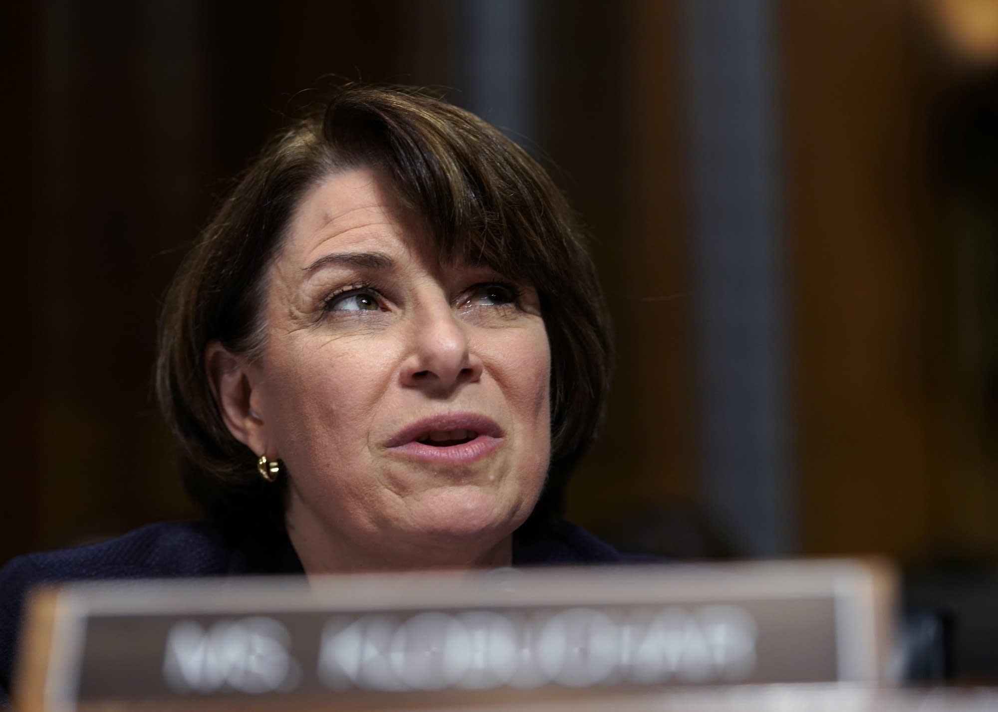 Sen. Amy Klobuchar questioned Supreme Court nominee Brett Kavanaugh.