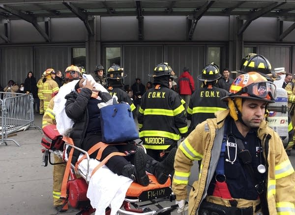 Brooklyn train derailment