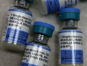 Measles, mumps and rubella vaccine