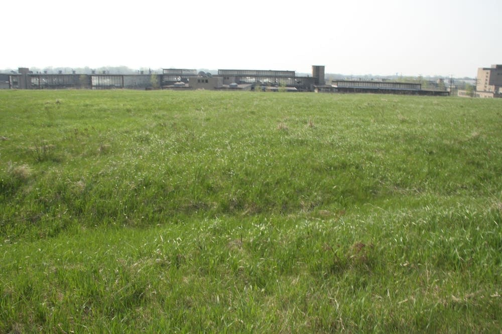 The Arden Hills site for a new Vikings stadium