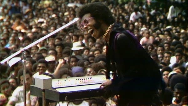 Sly and the Family Stone perform at the Harlem Cultural Festival in 1969