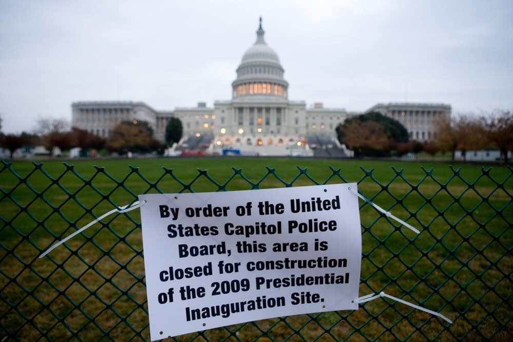 The nation's Capitol prepares for inauguration day