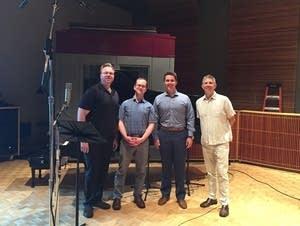 Operatunity Theatre guests in the studio