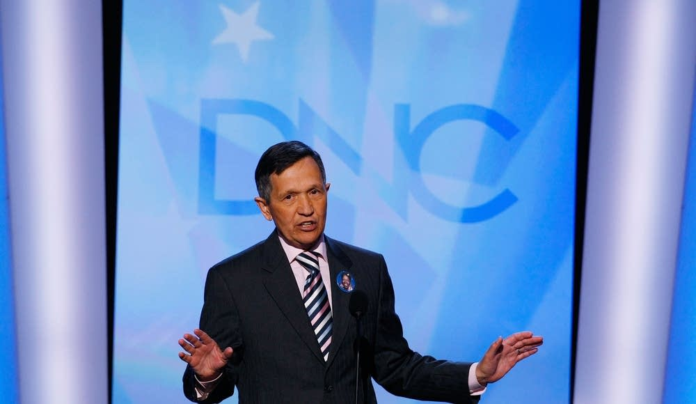 U.S. Rep. Dennis Kucinich (D-OH) at the DNC