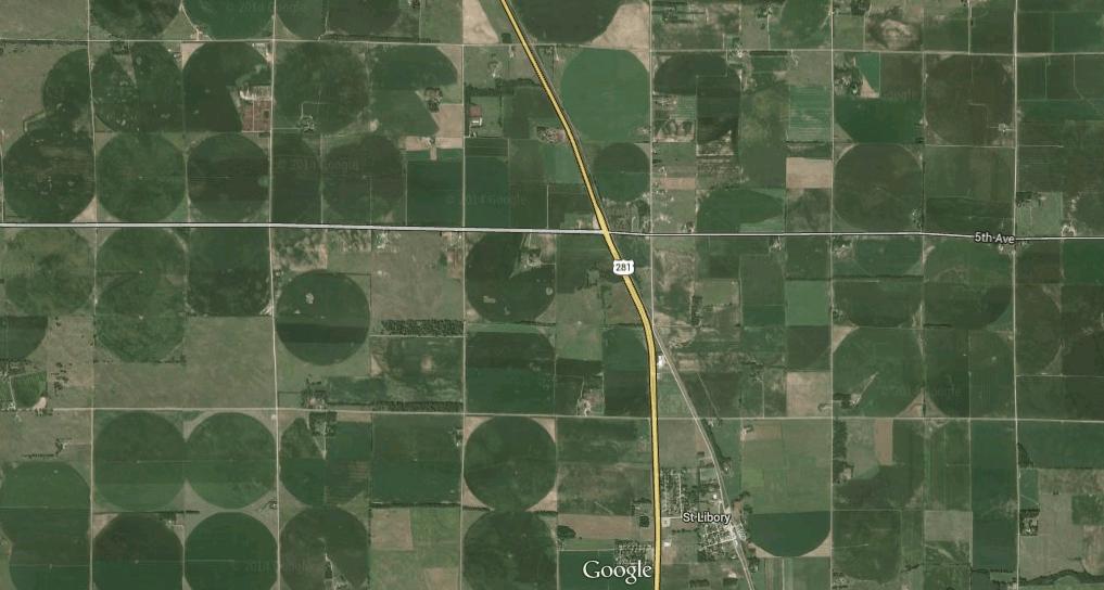 CC Nebraska irrigation circles