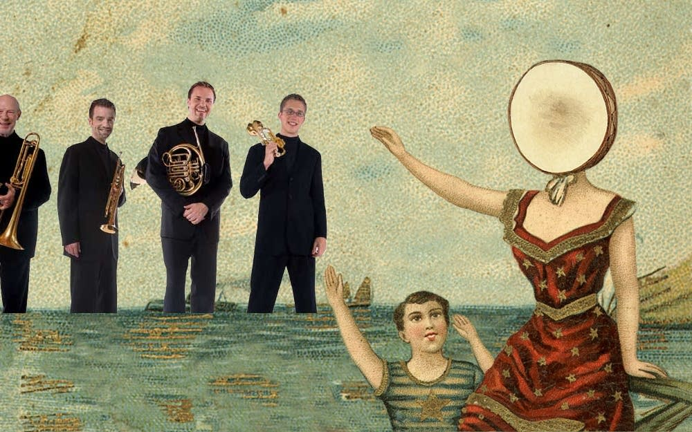 Neutral Milk Hotel and the Canadian Brass