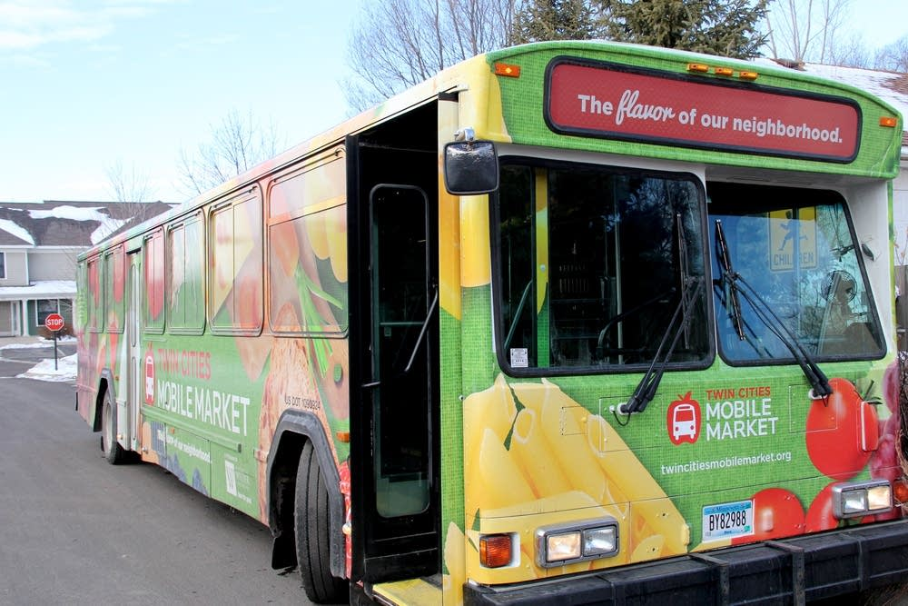 Bus Grocery Store Aims To Close Gaps In The Food System