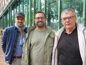 Marcus Muller, Sebastian Witte and Hans Jurgen Badziura.