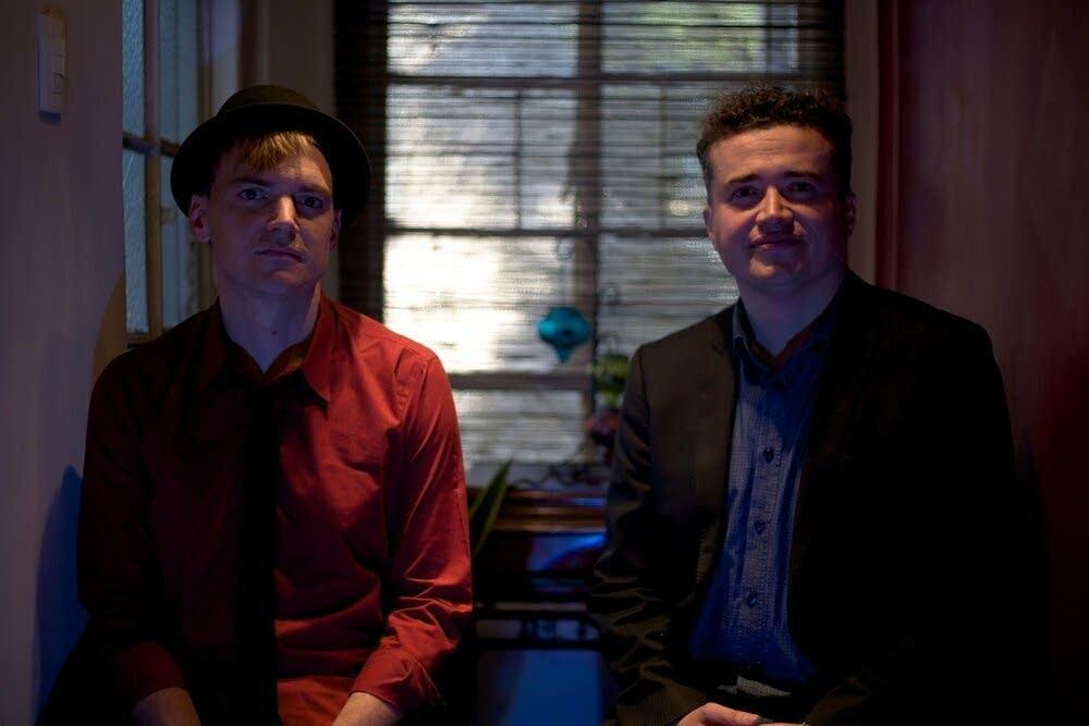 Guitarist Todd Clouser and pianist Alex Mercado