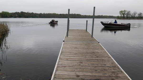 Boat launch at Bald Eagle Lake