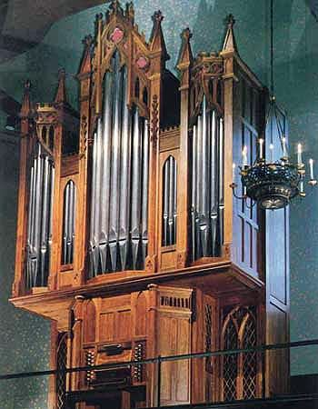 1991 C.B. Fisk organ at First Presbyterian Church