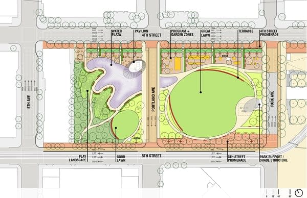 Downtown East diagram
