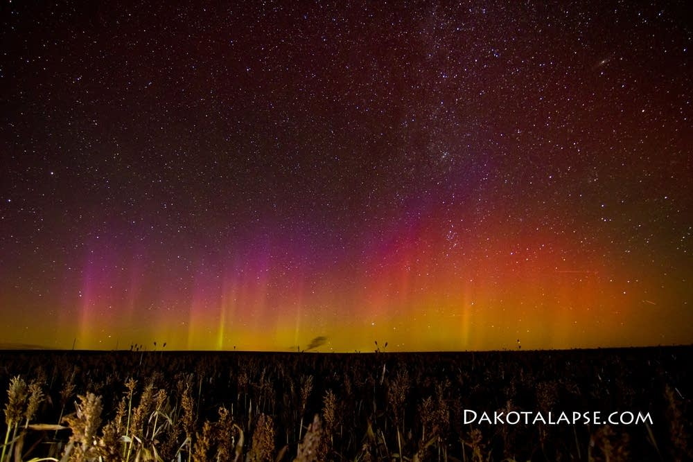 South Dakota northern lights