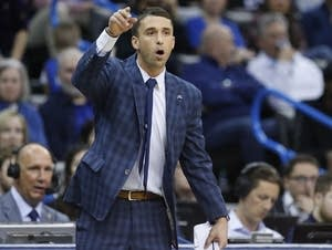 Minnesota Timberwolves interim head coach Ryan Saunders