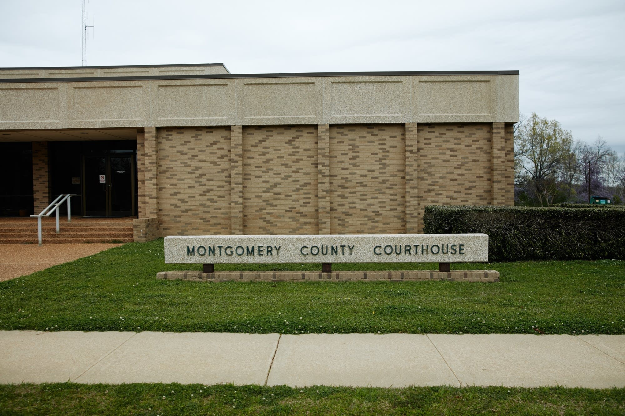 The Montgomery County Courthouse in Winona, Mississippi.