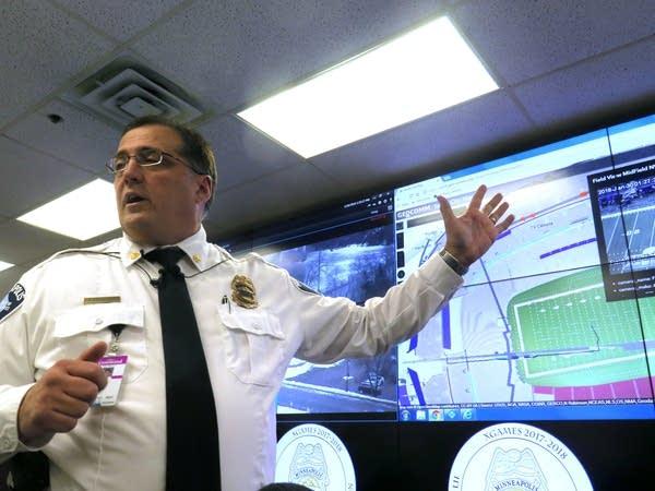 Minneapolis Police Commander Bruce Folkens.