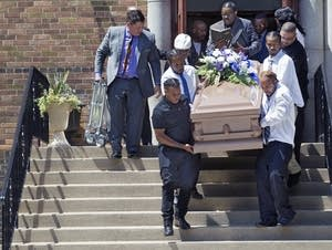 Thurman Blevins funeral