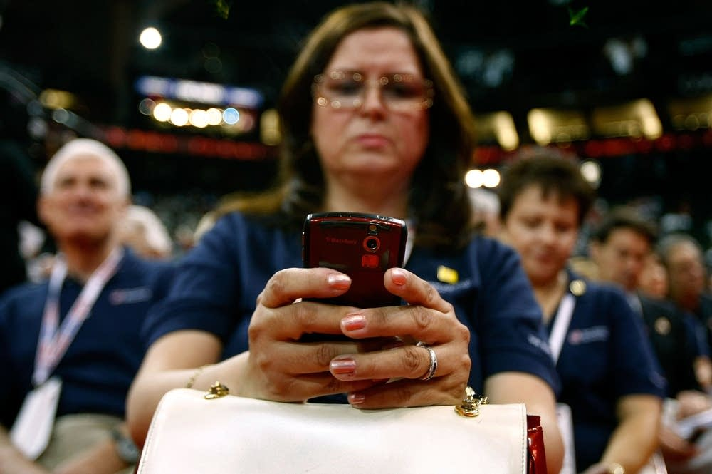 Texting at the RNC