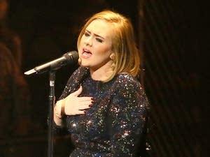 Adele in St. Paul
