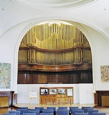 1913 Möller organ at the Karpeles Manuscript Museum, Buffalo, NY