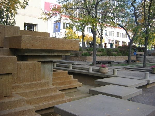 Steps of Peavey Plaza